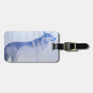 Exposed Wolf Luggage Tag