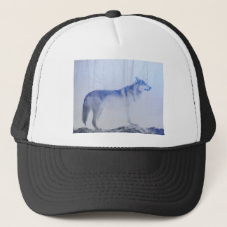 Exposed Wolf Trucker Hat