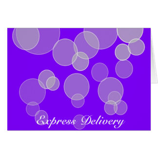 Express Delivery - Happy Days Will Come Again Card