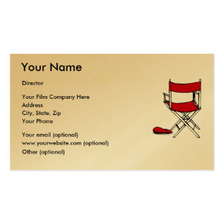 EXPRESS GOLD FILM DIRECTOR S BUSINESS CARDS