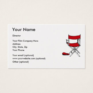 EXPRESS GOLD FILM DIRECTOR'S BUSINESS CARDS