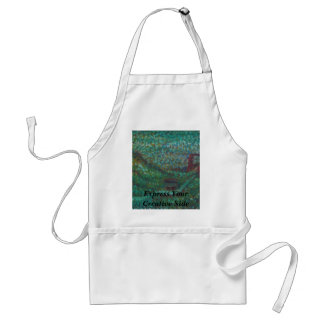 Express Your Creative Side Standard Apron