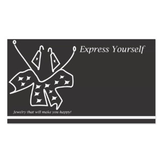 Express Yourself Business Card
