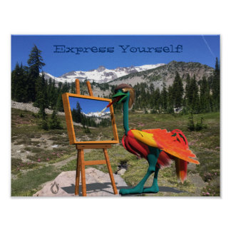 Express Yourself Voyager Poster
