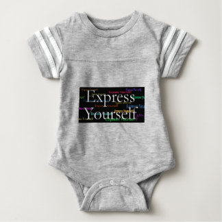 Express Yourselt at Expressity Baby Bodysuit