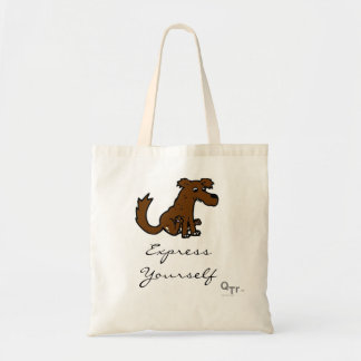 Express Youself Dog Tote