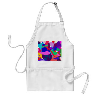 Expression 3 adult apron