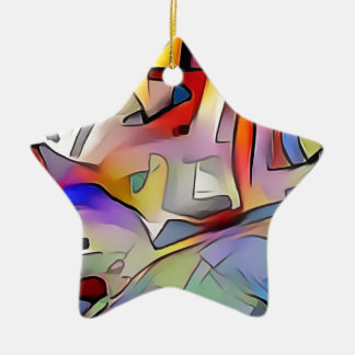 Expression Ceramic Ornament