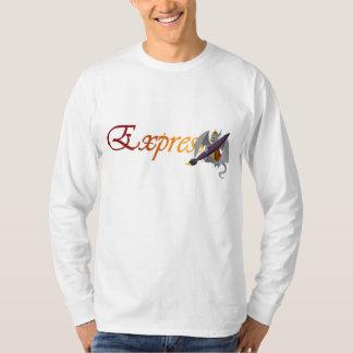 """Expression"" Dragon & Paintbrush Long Sleeve 4 T-Shirt"