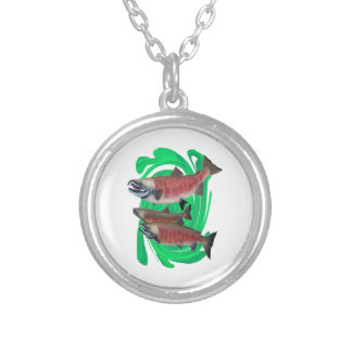 Expression of Life Silver Plated Necklace