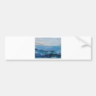 Expression of the Sea - Ocean Decor Bumper Sticker