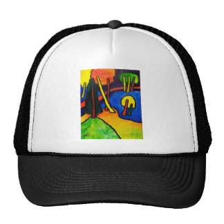 Expressionism Forest Hat