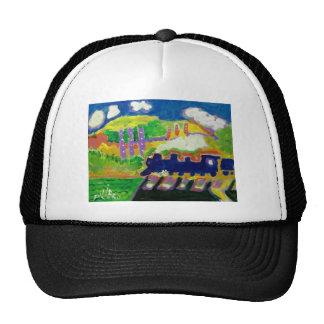 Expressionism train 4 hats