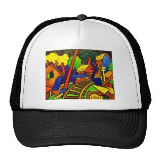 Expressionism Train 4 Trucker Hats