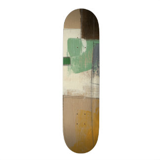 Expressionist Painting with Heavy Brush Strokes Skate Board Decks