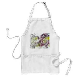 Expressive Abstract. Autumn Leaves. Standard Apron