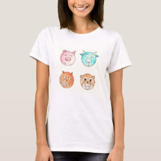 Expressive Animals T-Shirt
