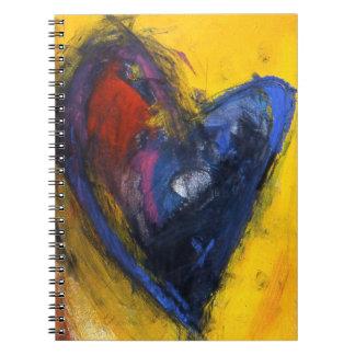 Expressive Love Spiral Notebooks