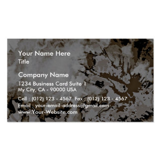 Expressive modern art special gift business cards