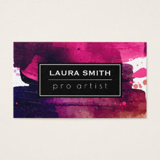 Expressive Paint Business Card