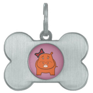 Expressively Playful Dianne Pet Name Tag