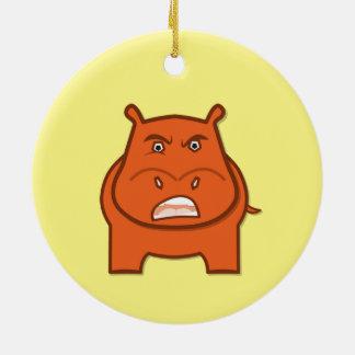 Expressively Playful Jack bondswell Mascot Ceramic Ornament
