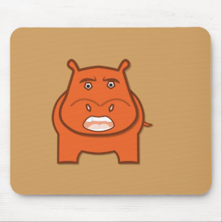 Expressively Playful Jack bondswell Mascot Mouse Pad