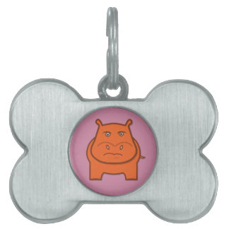 Expressively Playful Jack bondswell Mascot Pet ID Tag