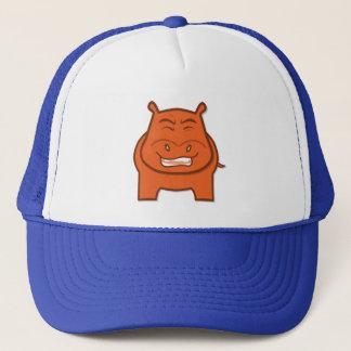 Expressively Playful Jack bondswell Mascot Trucker Hat