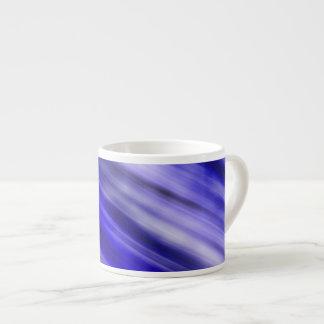 Expresso Mug, abstract art, blue. Espresso Cup