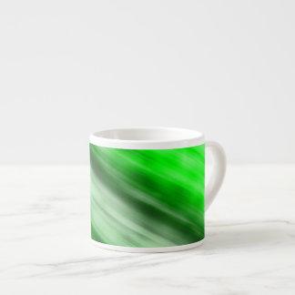 Expresso Mug, abstract art, green. Espresso Cup