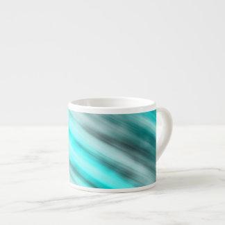 Expresso Mug, abstract art, light blue. Espresso Cup