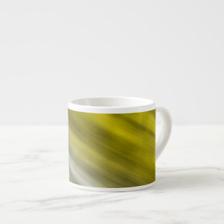 Expresso Mug, abstract art, yellow. Espresso Cup