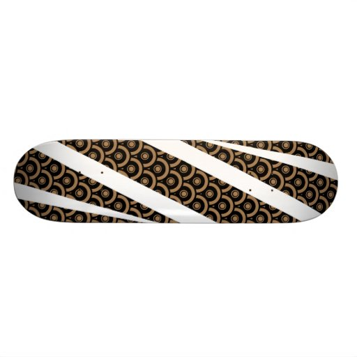 Expunge (Tan) Skateboard Deck