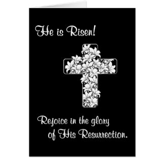 Exquisite! Rejoice - He is Risen Card