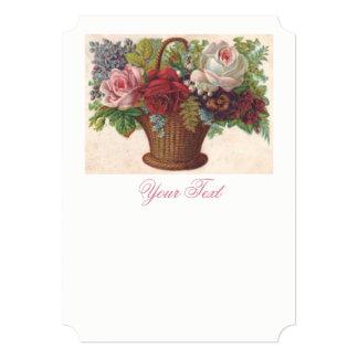Exquisite vintage antique Custom Invitation. Card