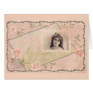 Exquisite vintage antique postcard by From My Desk