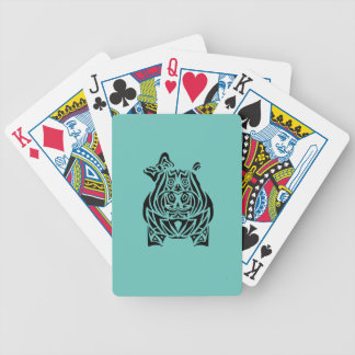 Exquisitely Playful Tribal Tattoos Bicycle Playing Cards