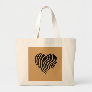 Exquisitely Playful Tribal Tattoos Large Tote Bag