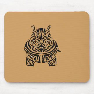 Exquisitely Playful Tribal Tattoos Mouse Pad