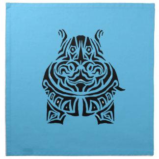 Exquisitely Playful Tribal Tattoos Napkin