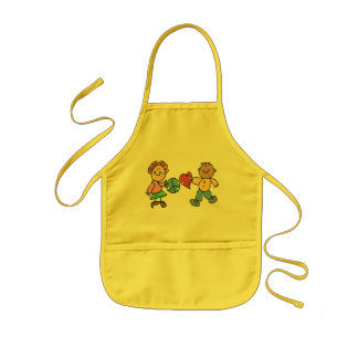 Extended Hands of Peace and Love Kids Apron