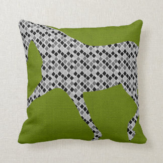 EXTENDED TROT Geometric PILLOW 16x16