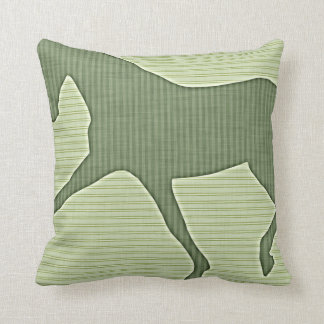 EXTENDED TROT Stripes PILLOW 16x16