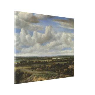 Extensive Landscape Canvas Print