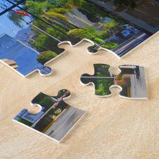 Exterior Gates At Iconic Hollywood Studio Jigsaw Puzzle