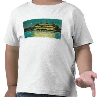 Exterior Night View of the Neptune Casino & Tshirt