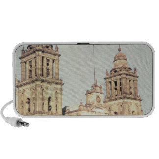 Exterior of Mexico City Cathedral iPod Speakers