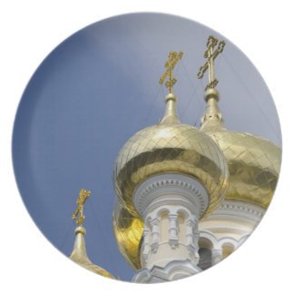 Exterior of Saint Alexander Nevsky Cathedral 3 Plate