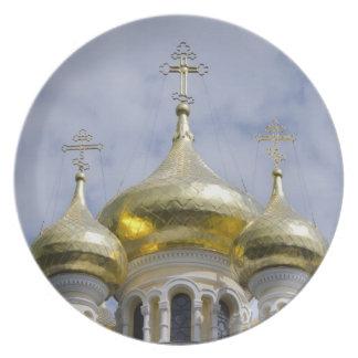 Exterior of Saint Alexander Nevsky Cathedral Plates